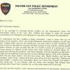 Police Chief Nominates Woods of Haltom