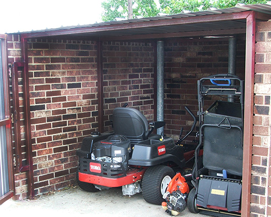 Renovations - Townhouse - Lawn mower - After
