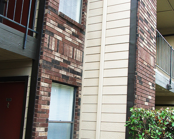 Renovations - Townhouse - Outside wall - After