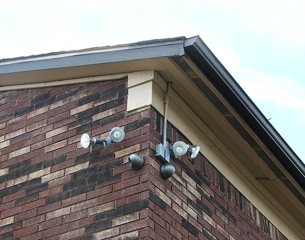 Renovations - Townhouse - Security Camera - After